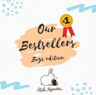 BESTSELLERS - Boys edition