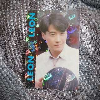 黎明 Leon Lai 絕版 YesCard Yes咭 Yes卡 Yes Card 雙面閃