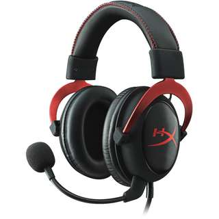 Kingston HyperX Cloud II Headset - Black/Red
