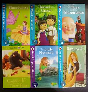 Read it yourself with ladybird (assorted titles)