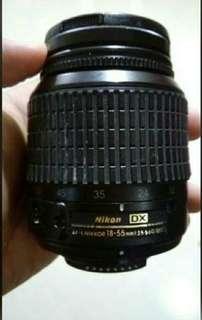 Kit lens canon 18-55mm