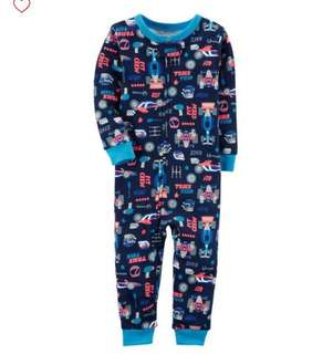 *18M* Brand New Carter's Snug Fit Cotton Footless PJs For Baby Boy
