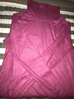 New Uniqlo Turtle Neck Long Sleeved Winterwear TOP