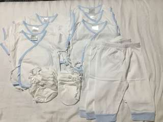 Tie Sides and Pants Set