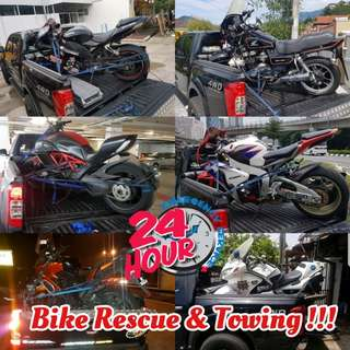 Bike Rescue &Towing 24hours