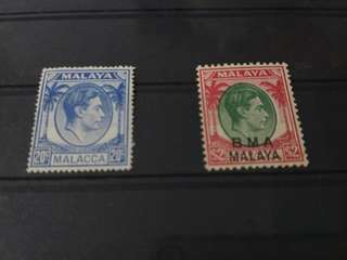 Malaya Straits BMA and Malacca