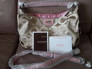Authentic coach bag w/ sling
