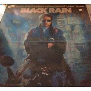 Vg+ black rain soundtrack vinyl ost record