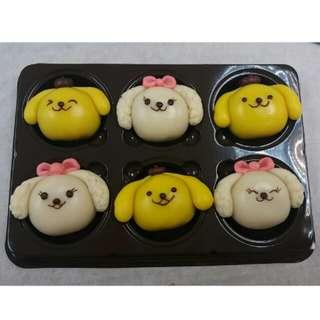 可愛造型和菓子 wagashi