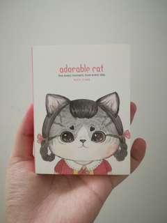 🆕 Cat note book