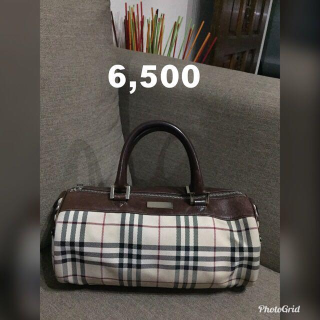 💯% AUTHENTIC BURBERRY SPEEDY BAG f8a2ae91e9239