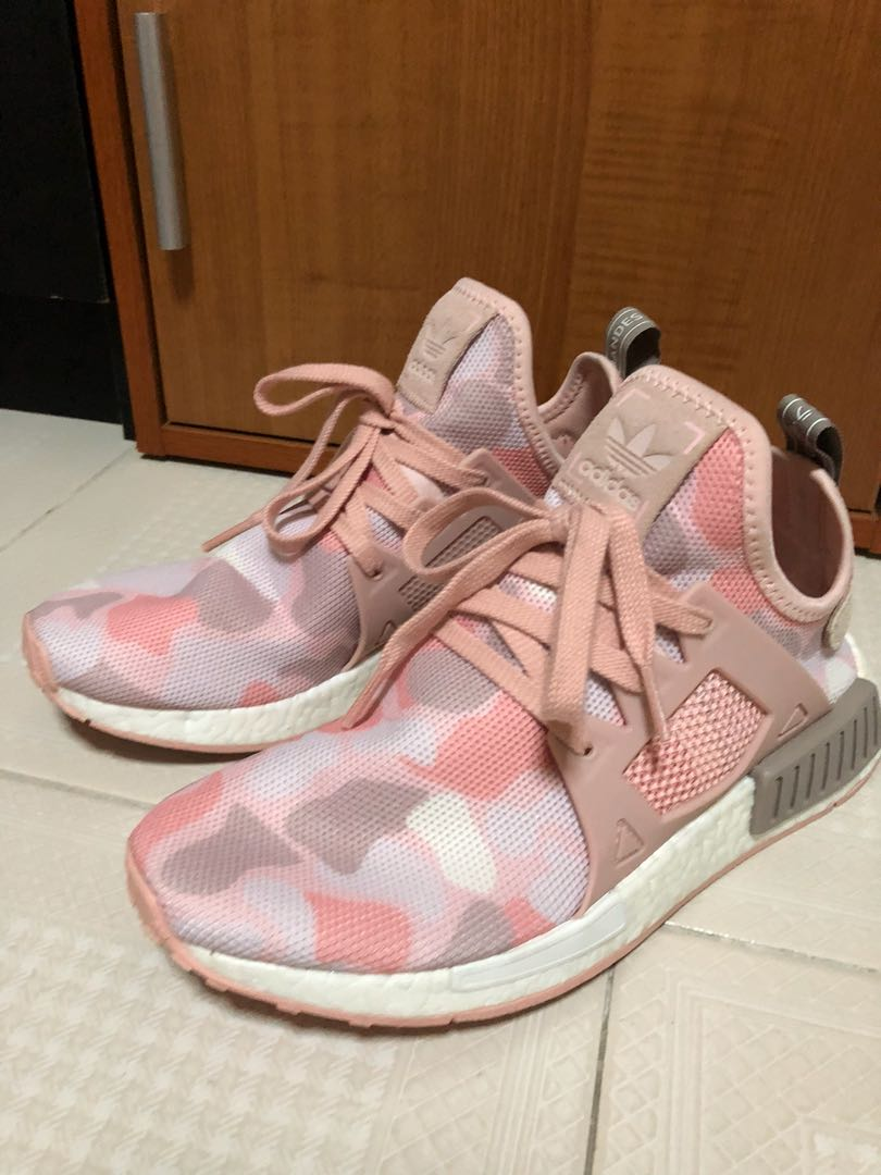 e7cdfdb72d81f Adidas NMD R1 Duck Camo Pink, Men's Fashion, Footwear on Carousell