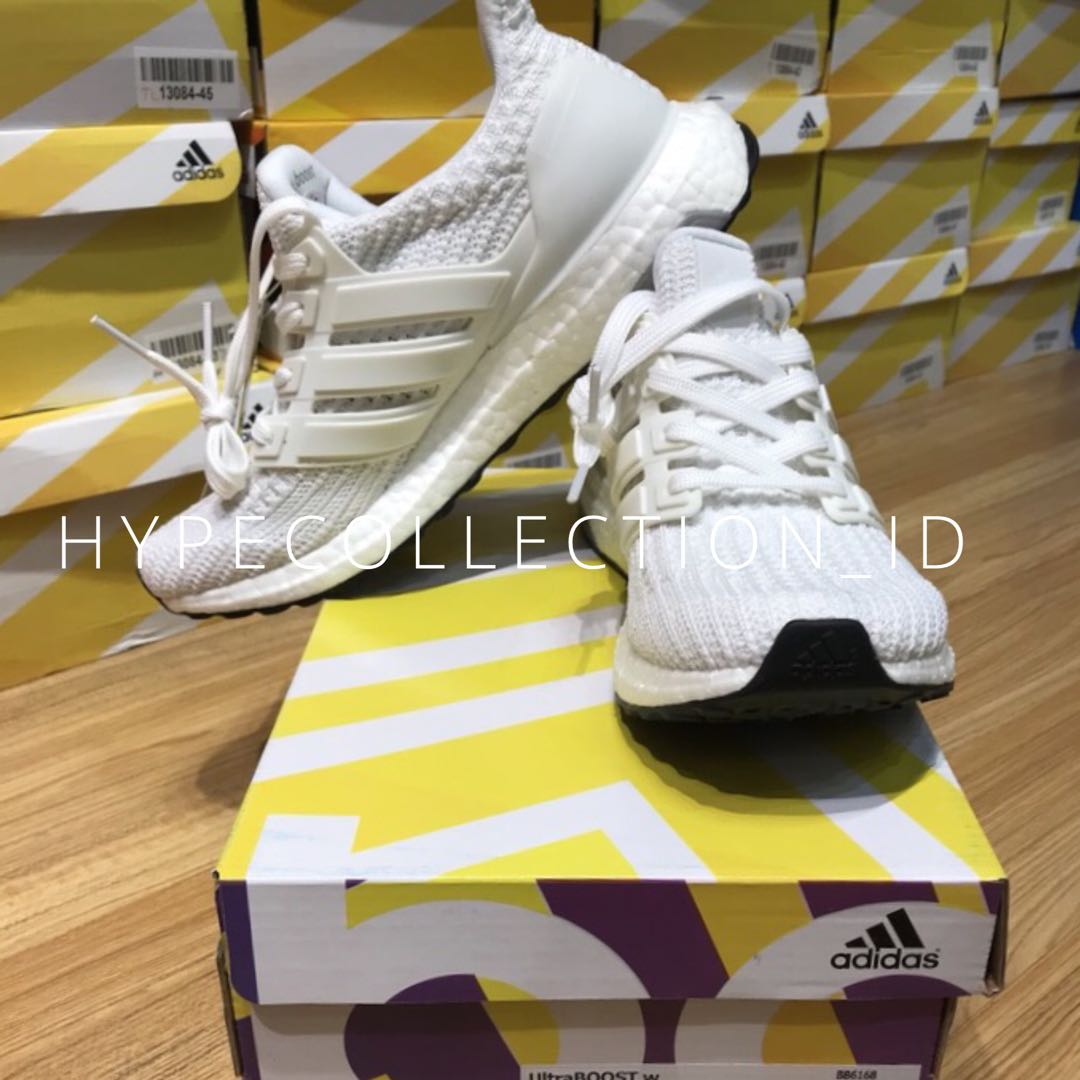 new style d302d fe863 Adidas Ultraboost 4.0 Triple White 100% ORIGINAL BASF ADIDAS ...