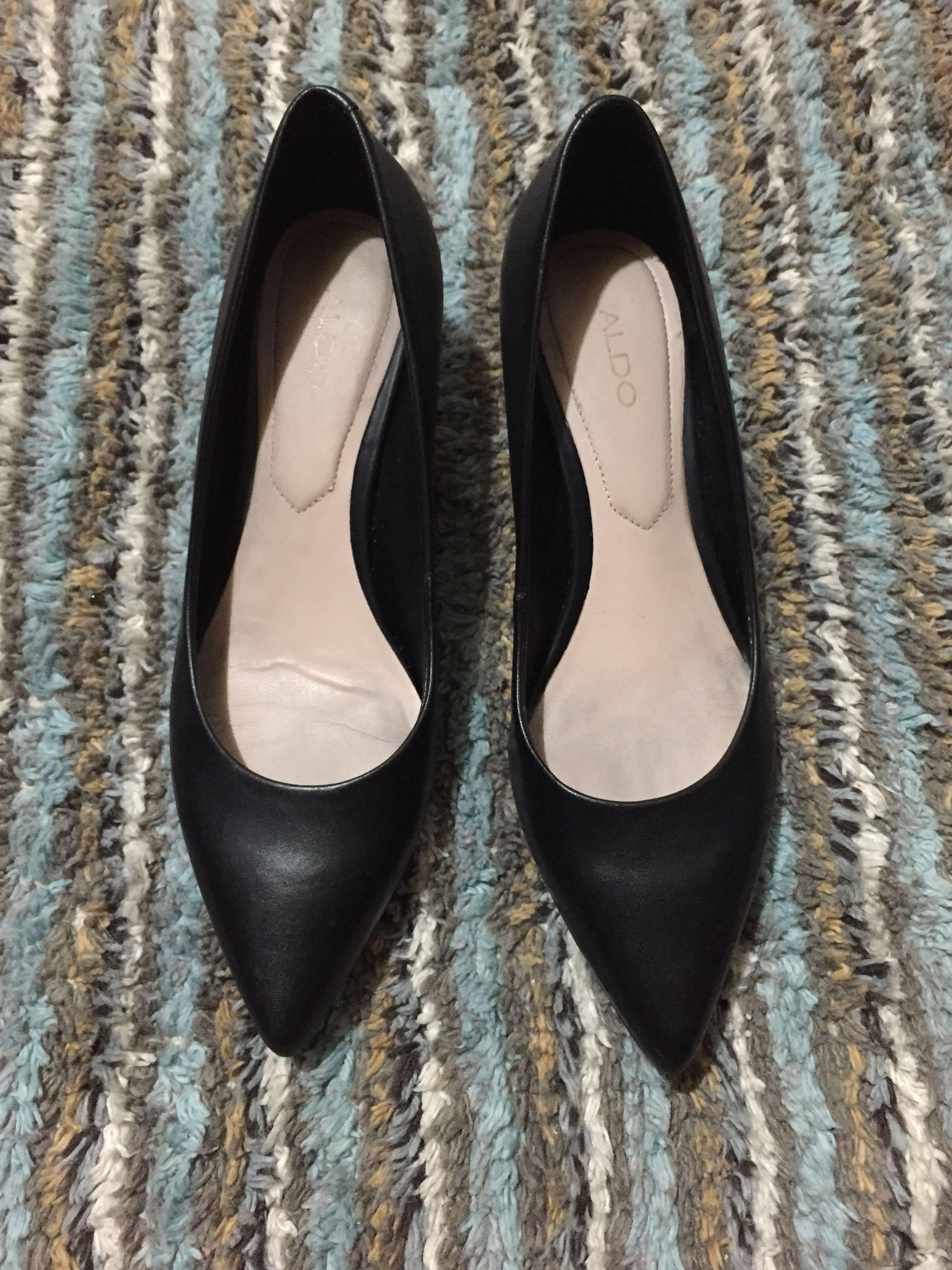 b5c66ad5ce62 Aldo Leather Kitten Heels