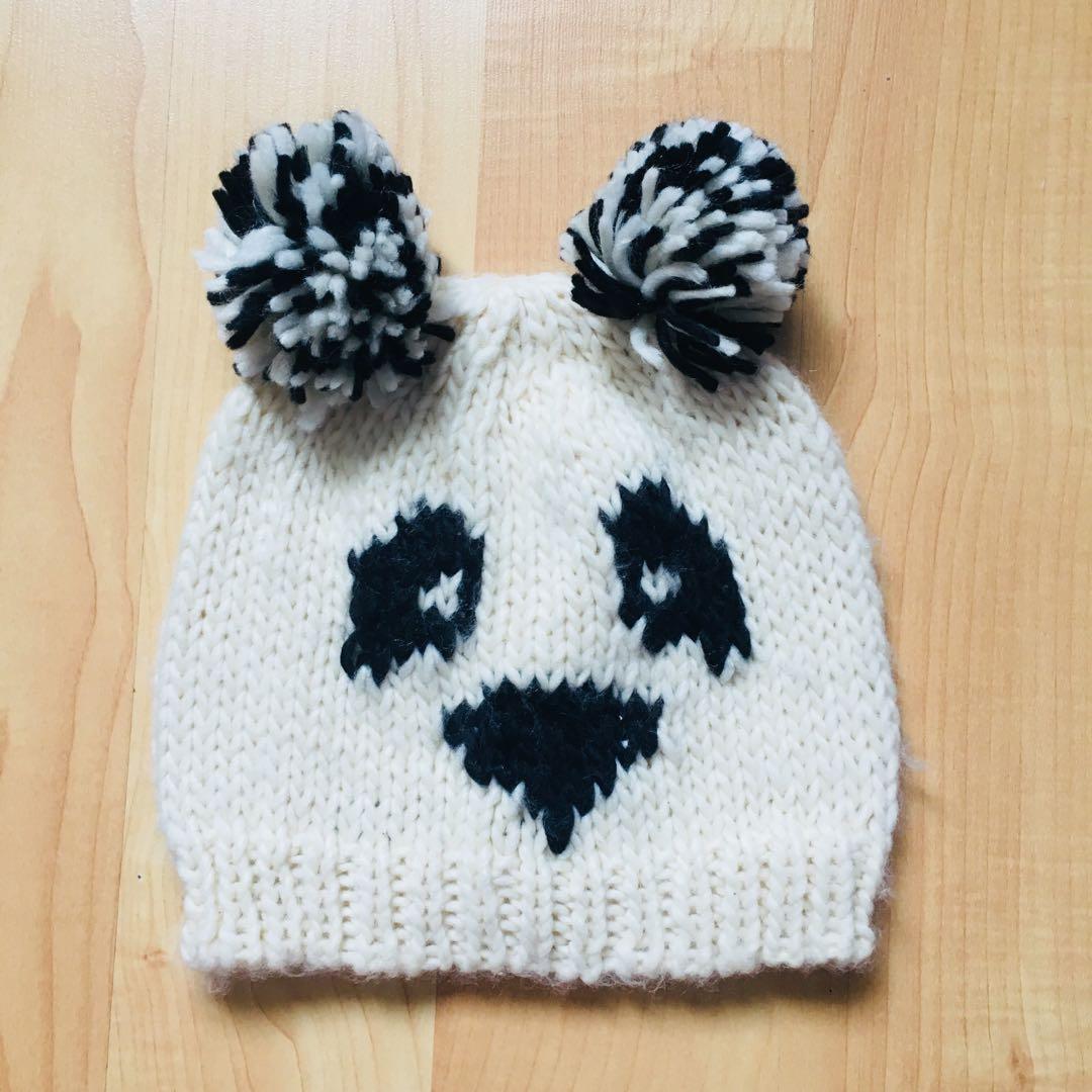 *REDUCED* ASOS Panda Knit Beanie