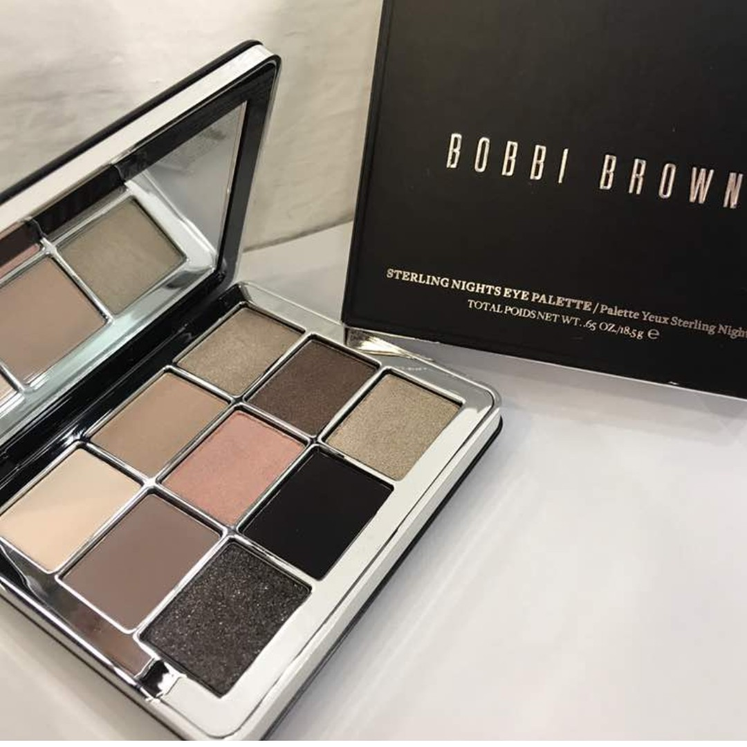 Bobbi Brown Sterling Nights Eye Palette Limited Edition Health