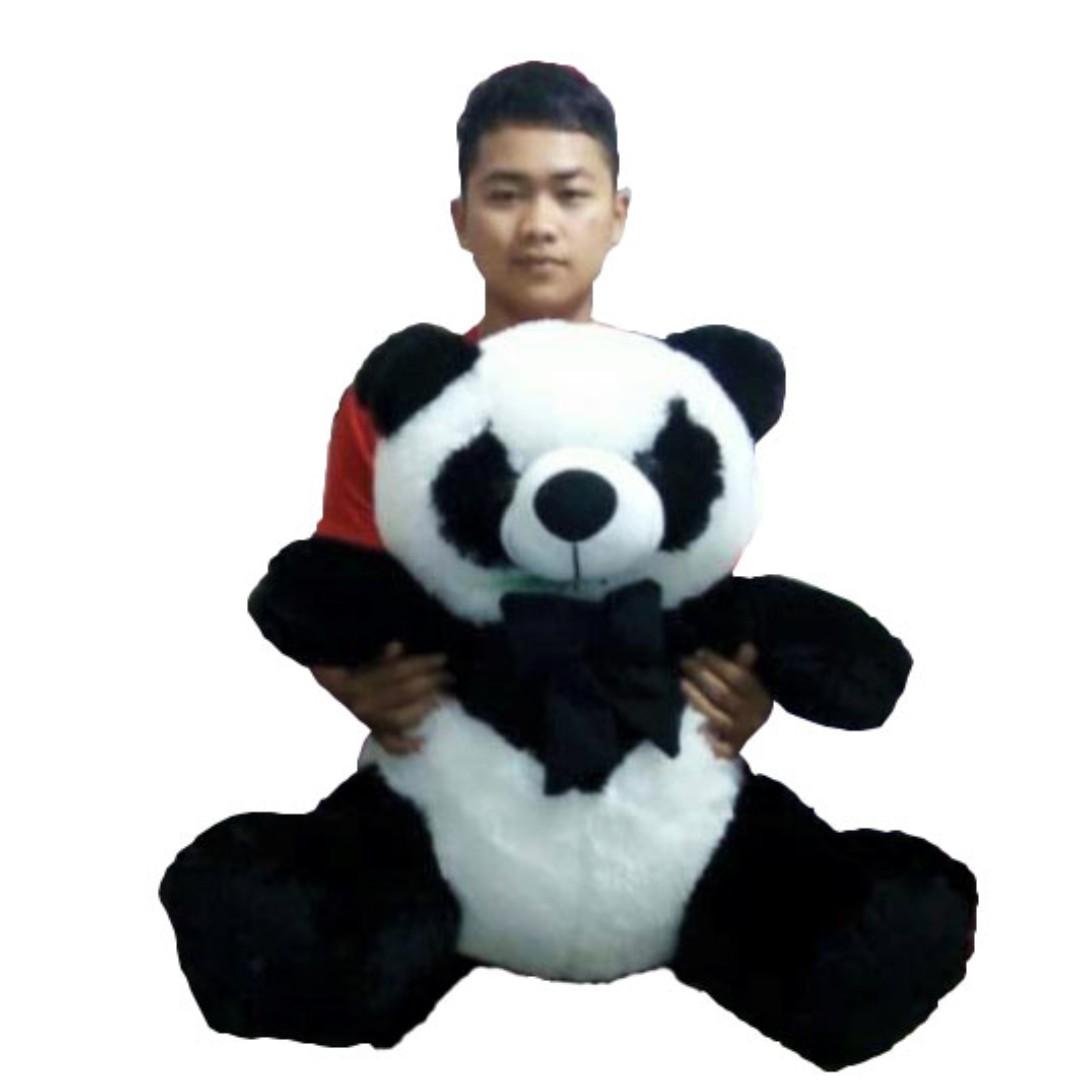 Boneka jumbo panda lucu size XL jumbo model duduk 8c77b7fbce