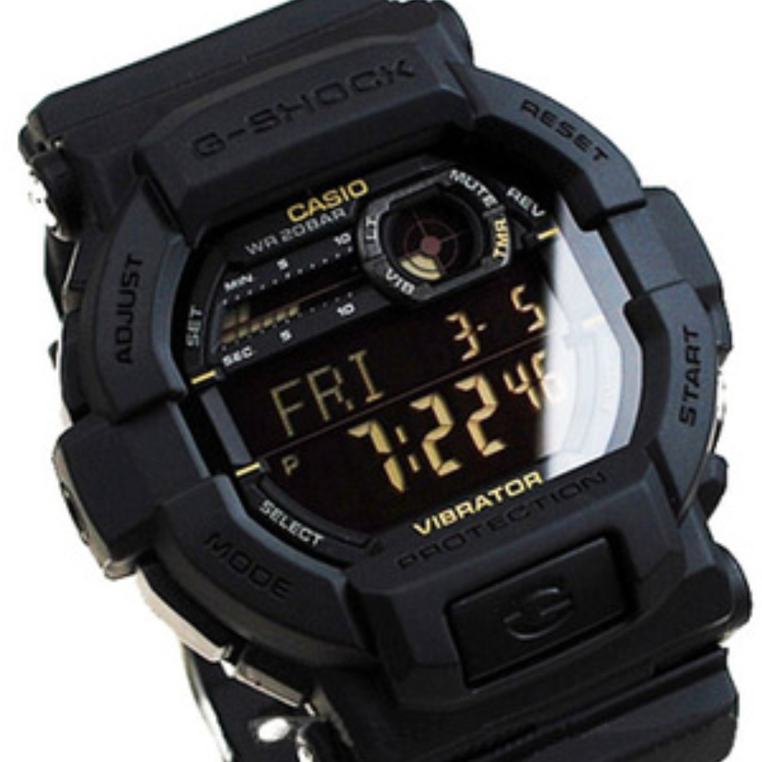 Brand New 100 Authentic Casio Vibe Alert Gshock Watch Gd350 Black Out Series With Free Delivery G Shock Unisex Square Gd 1bdr Mens Fashion Watches On Carousell