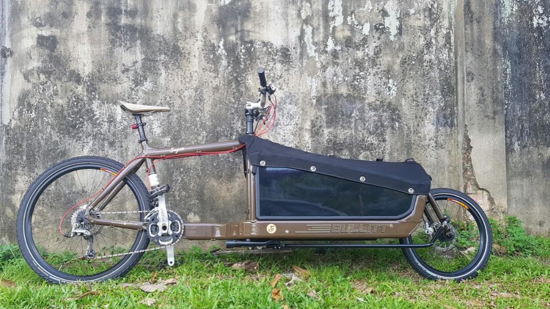 Bullitt Cargo Bike Bicycles Pmds