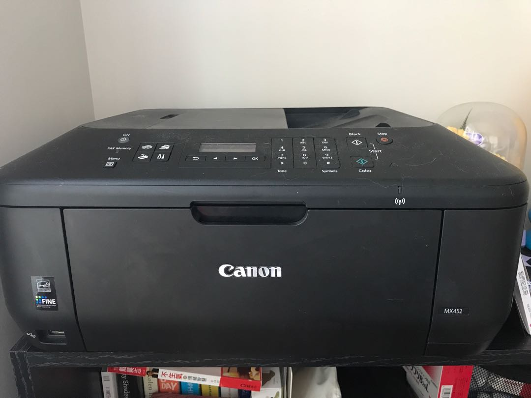 Canon wireless printer MX452