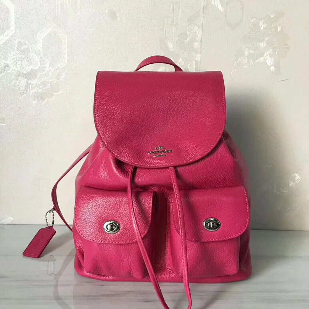 Coach Leather Ladies Pink Backpack 23b3668d311e9