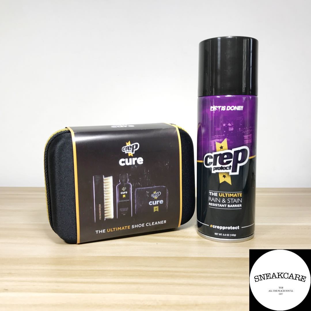 Crep Protect Cleaning Kit And Repellent Set Mens Fashion Footwear Cure Ultimate Shoe On Carousell