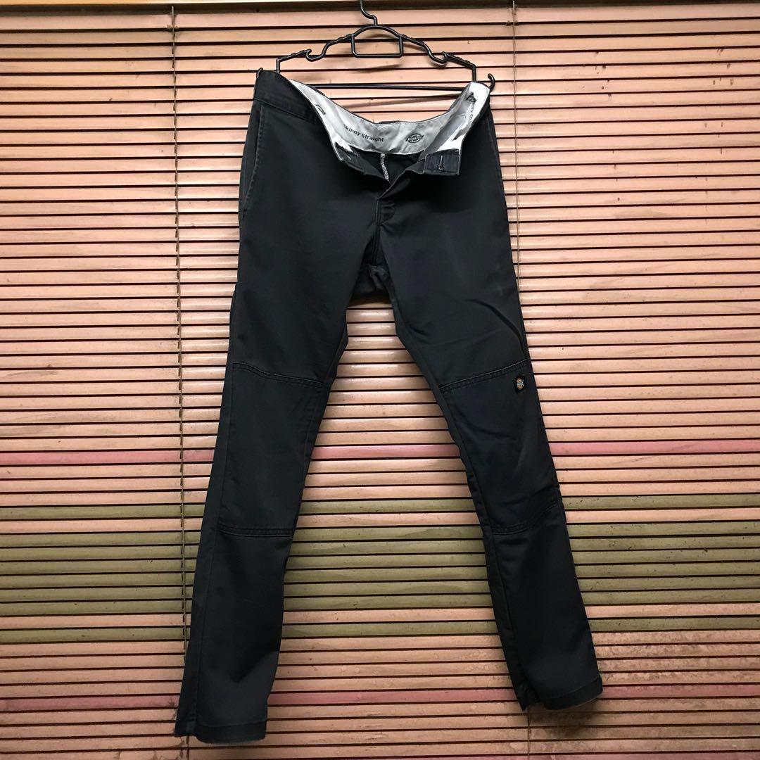 c1d309da766 Dickies FLEX Skinny Straight Fit Double Knee Work Pants WP811 ...