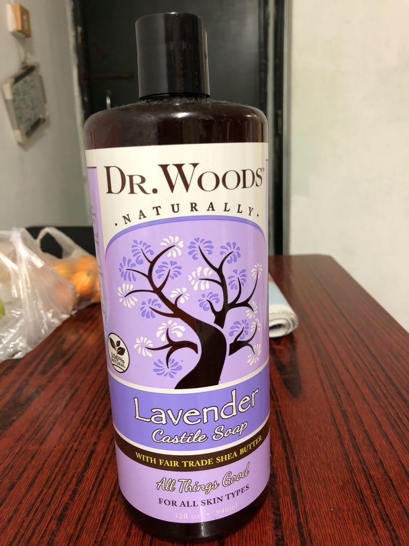 Dr  Woods - Black Soap ,仲有薰衣草味
