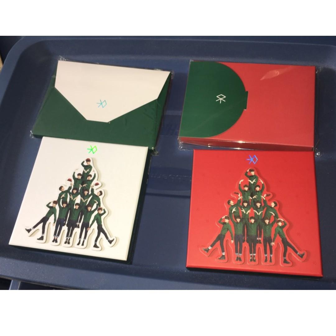 EXO/EXO-K/EXO-M - CDs & Photobook & Postcards