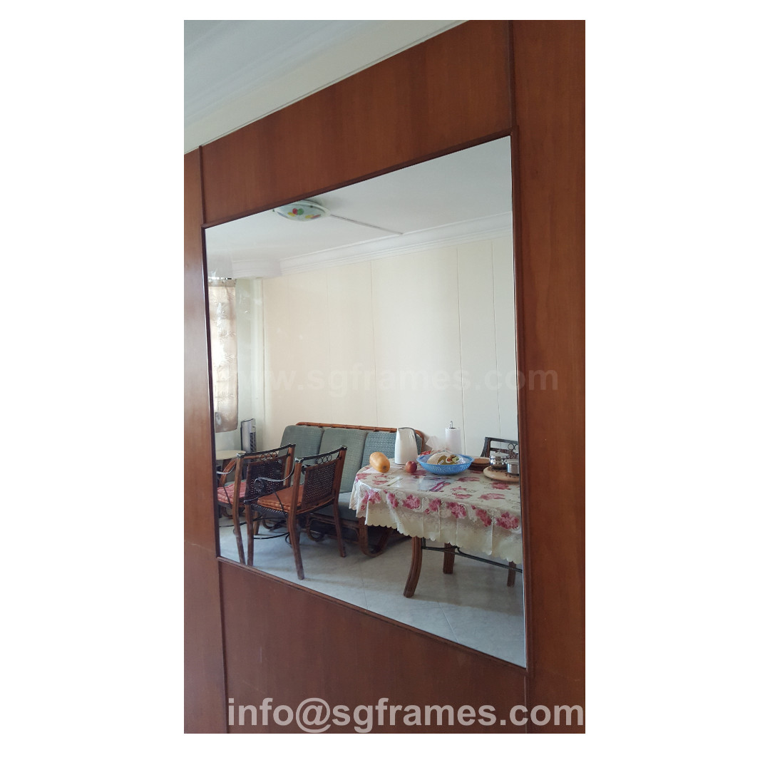 Fullsize Wall Mirror Custom Size Delivery Installation Furniture Home Decor On Carou