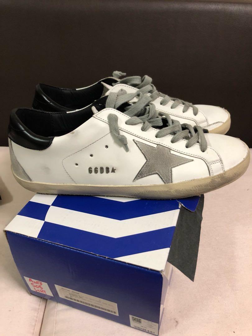69d9e91b90044 GOLDEN GOOSE GGDB sneakers superstar col w55 white blackberry cream ...
