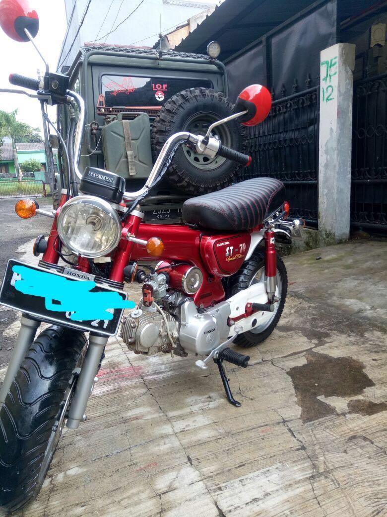Honda Dax St70 Motor Di Carousell