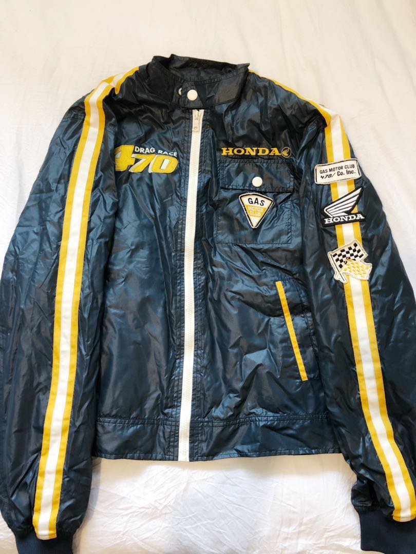 Honda Racing Jacket By Gas Collection (Vintage)