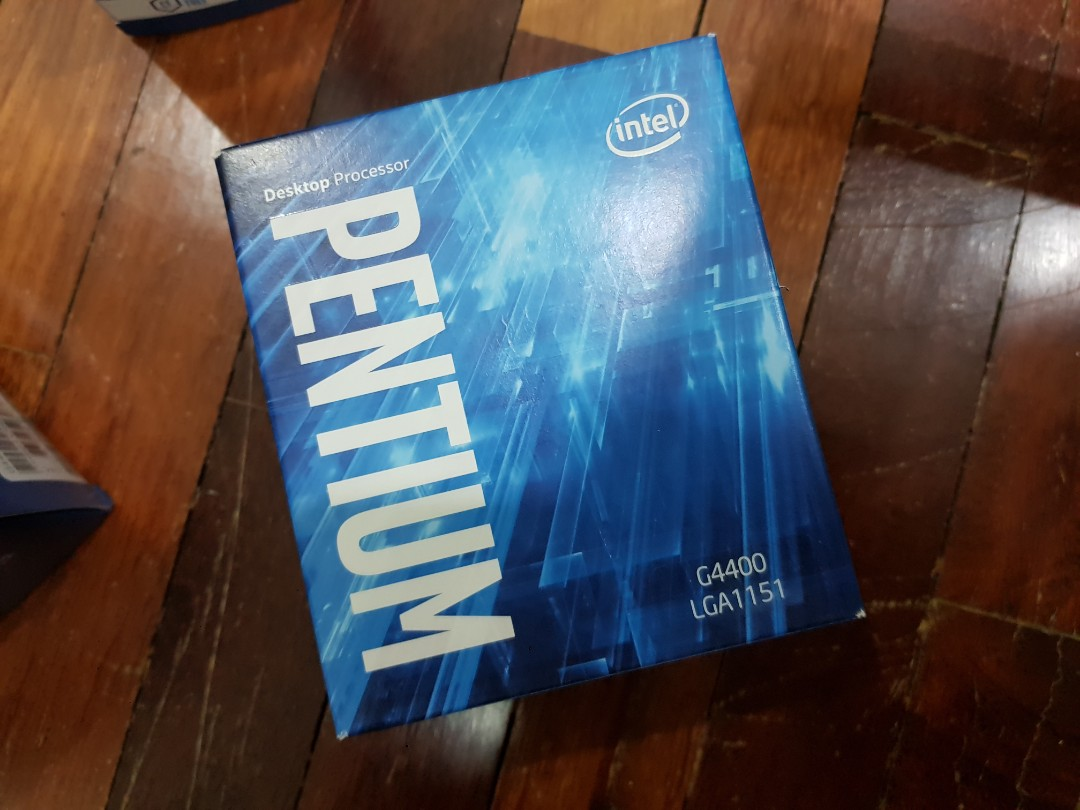 Intel Pentium G4400 2 Unit Left Electronics Computer Parts Procesor Core I5 4460 320 Box Socket 1150 Accessories On Carousell