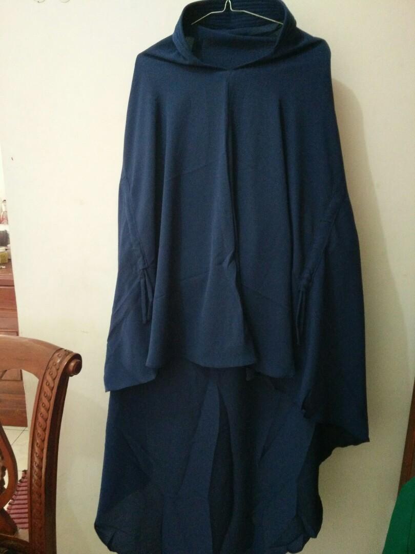 Jilbab Syari Simpel Womens Fashion Muslim On Carousell Umama Noor Hijab Kerudung Segiempat