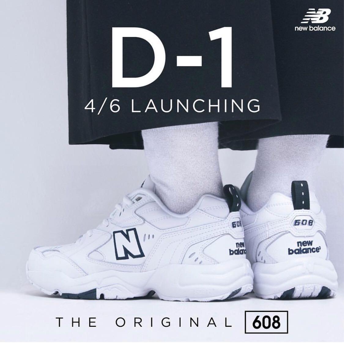 22594b6d Korea New Balance New 608 STYLE NO. NBPT8S553W, Men's Fashion ...