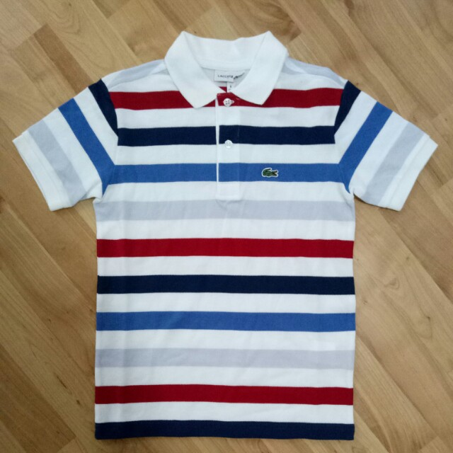 official photos af228 f7c47 Lacoste Boy's Polo Shirt, Babies & Kids, Boys' Apparel on ...
