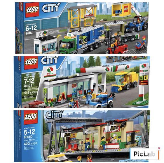 Lego City 60050 60169 60132 on Carousell