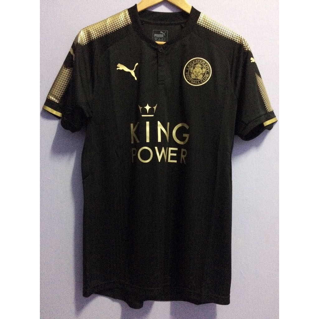 b9efb245f Leicester City 17/18 Away Shirt, Sports, Athletic & Sports Clothing on  Carousell
