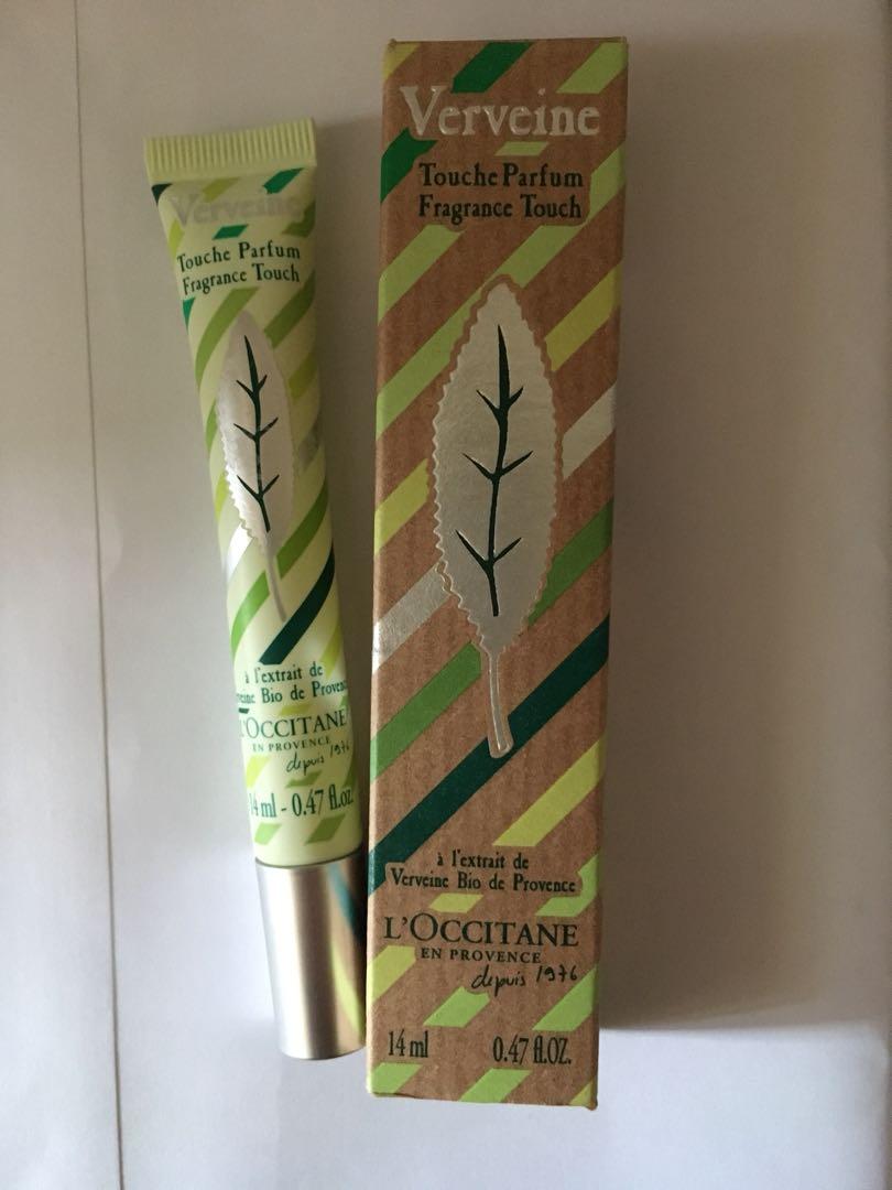 Loccitane Verveine Touche Parfum 14ml On Carousell