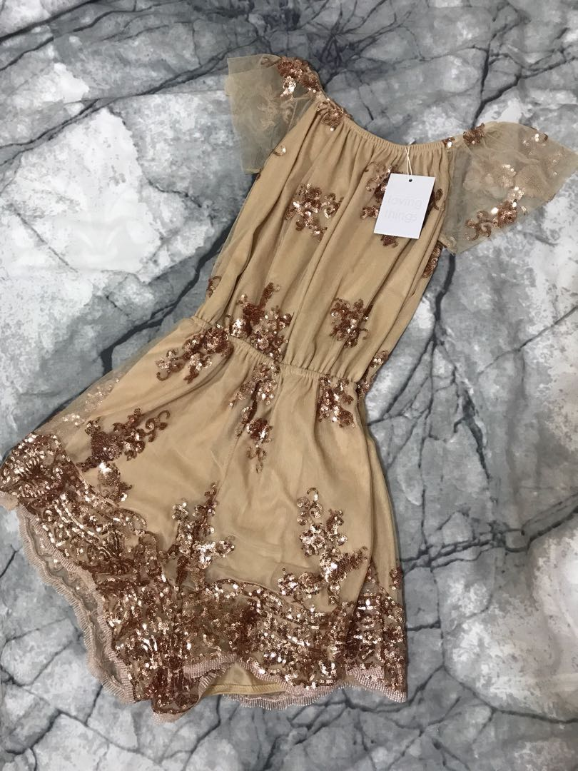 Loving Things Playsuit | Size 6
