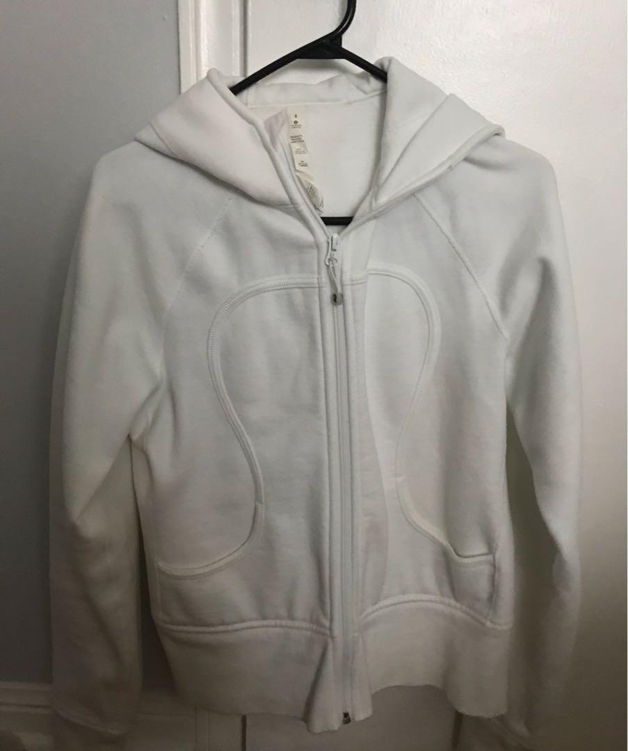 Lululemon White Sweater