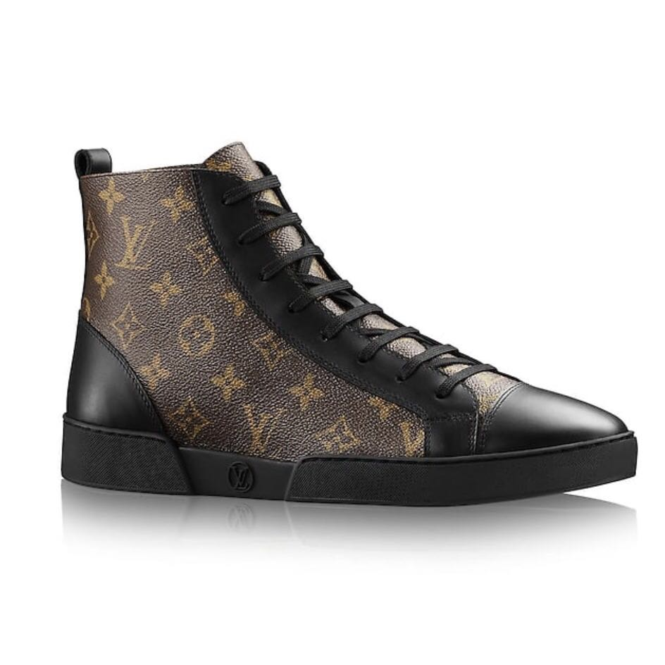 LV Sneakers Louis Vuitton Kasut 736c022f35
