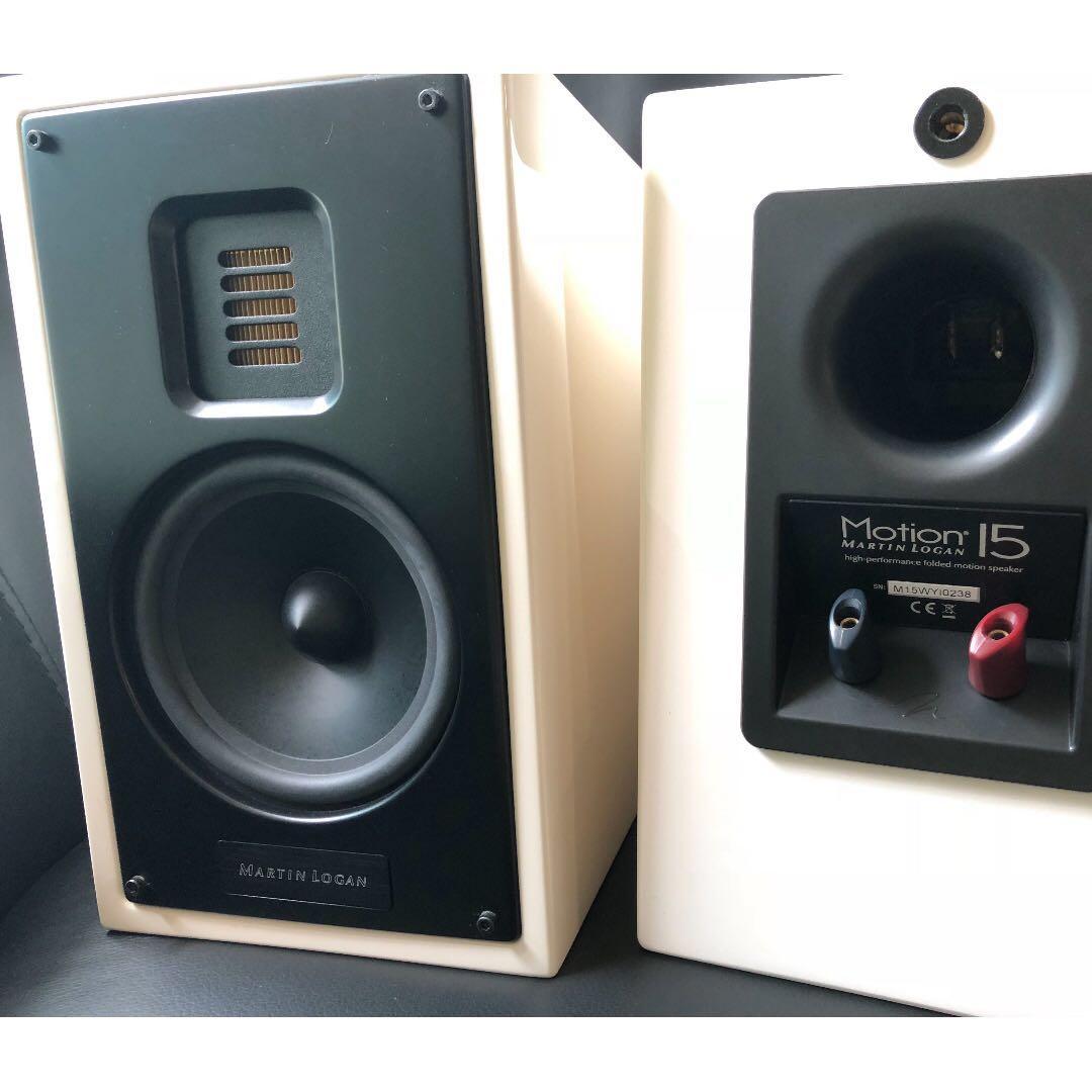 Martin Logan Motion 15 Electronics Audio On Carousell