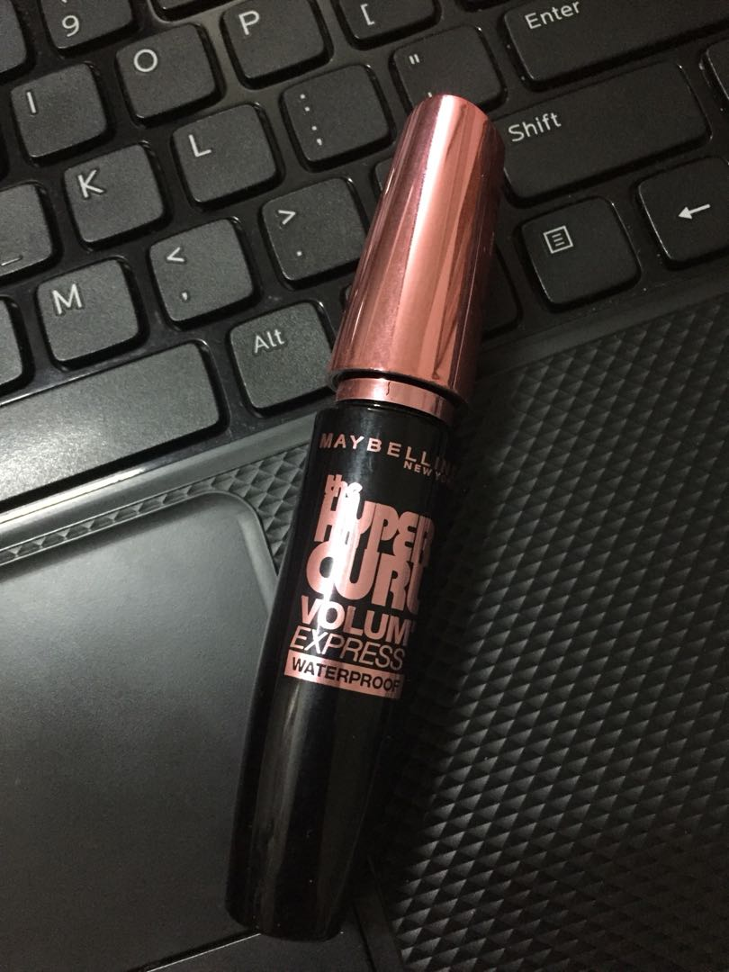 Mascara Maybelline The Hyper Curl Volume Express Japandays2018 Hypercurl Hitam Photo