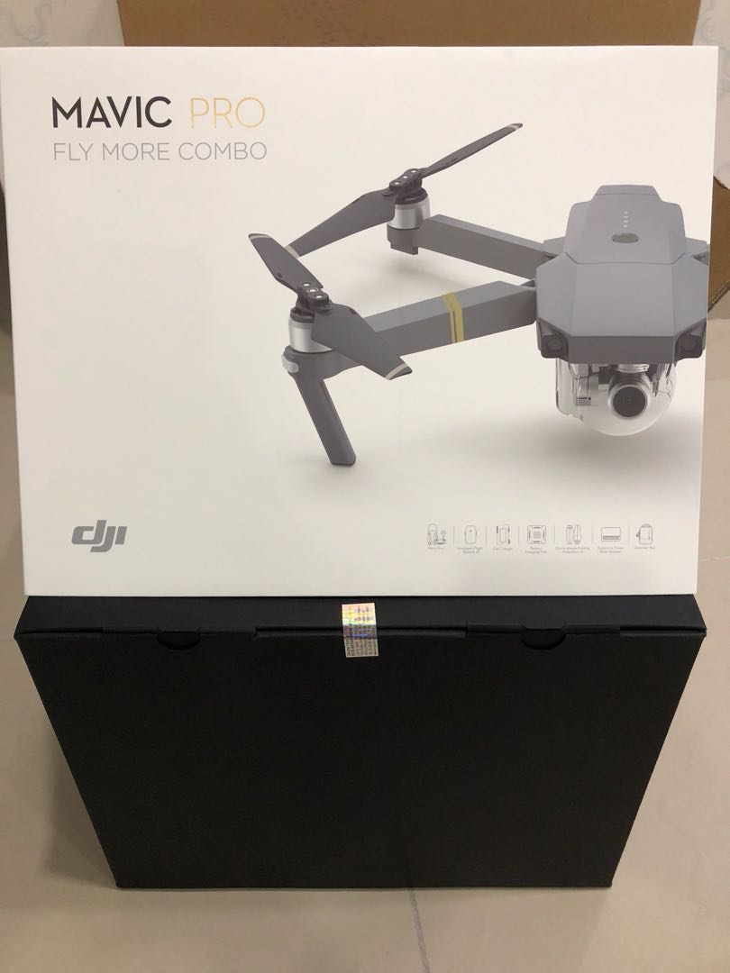 🔥NEW🔥 DJI Mavic Pro Fly More Combo + Extra 2 Accessories