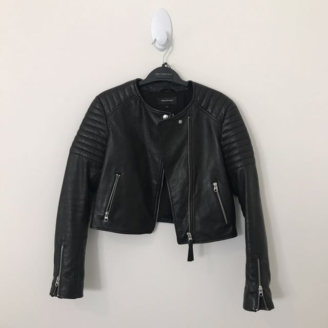 NEW Mackage Leather Jacket