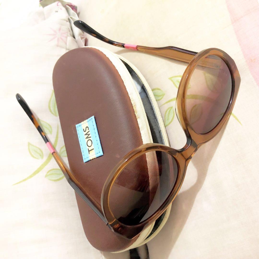 0fbabb835f1 original TOMS brown sunglasses