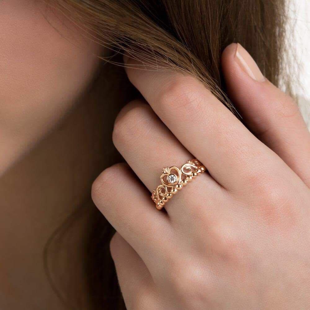 9894542df ... reduced pandora my princess tiara ring preloved womens fashion jewelry  on carousell 87946 83749