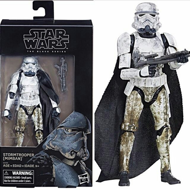"Star Wars Hasbro Black Series 6/"" Inch Mimban Stormtrooper Action Figure NEW"